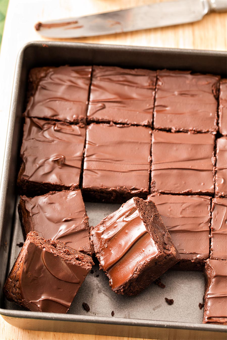 Chocolate Stout Brownies by Carla Cardello Food Photographer