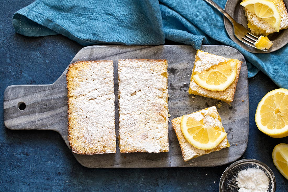 Lemon Bars by Carla Cardello Food Photographer