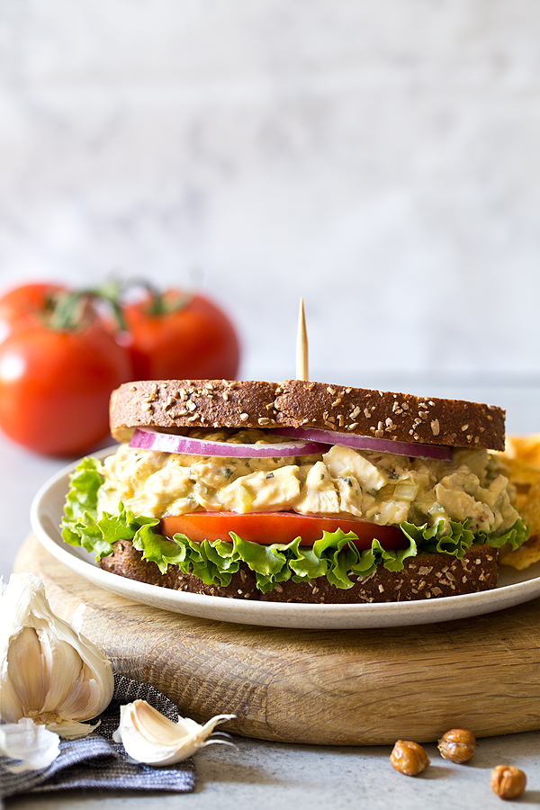 Chicken Salad by Carla Cardello Food Photographer